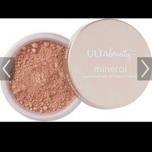 Loose foundation or setting powder